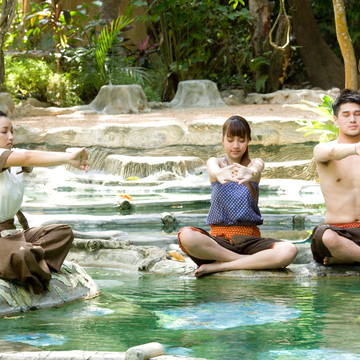 4 Days Hot Spring Bath & Yoga Retreat in Thailand