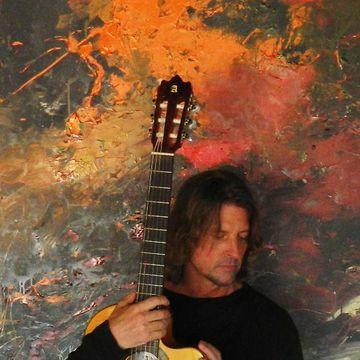 Oleg Bondarenko - professional musician and painter - art teacher