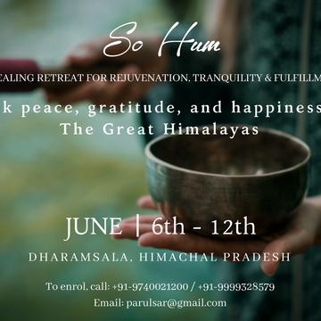 So Hum: 7 Days Yoga + Meditation Retreat in The Himalayas