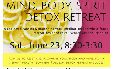 Mind, Body, Spirit Spring Detox Retreat
