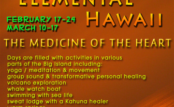 ELEMENTAL HAWAII Feb 17-24 and Mar 10-17