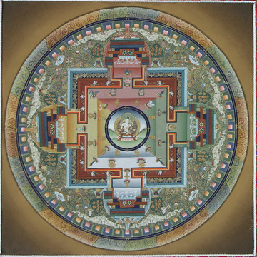 Mandala Training Level 1: Meeting the Mandala of the Five Wisdom Dakinis