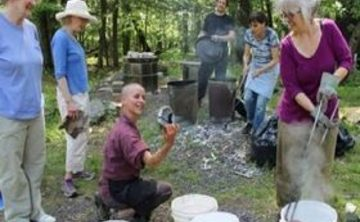Being the Bowl: A Clay Retreat with Raku Firing