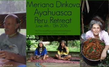Plant Medicine & yoga Retreat With 3 Shamans in Peru June 4-13th 2016