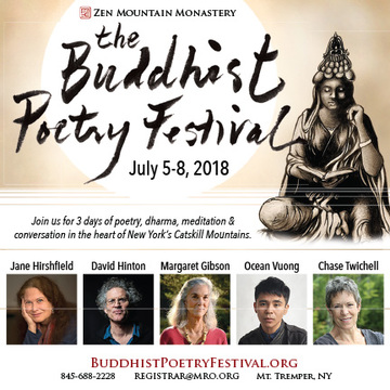 Jane Hirshfield, David Hinton, Margaret Gibson, Ocean Vuong, Chase Takusei Twichell, and more