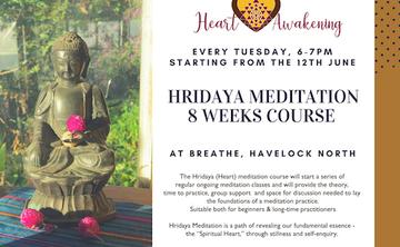 8-Week Hridaya Meditation Course in New Zealand