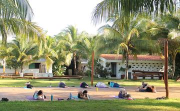 Yoga + Volunteer work