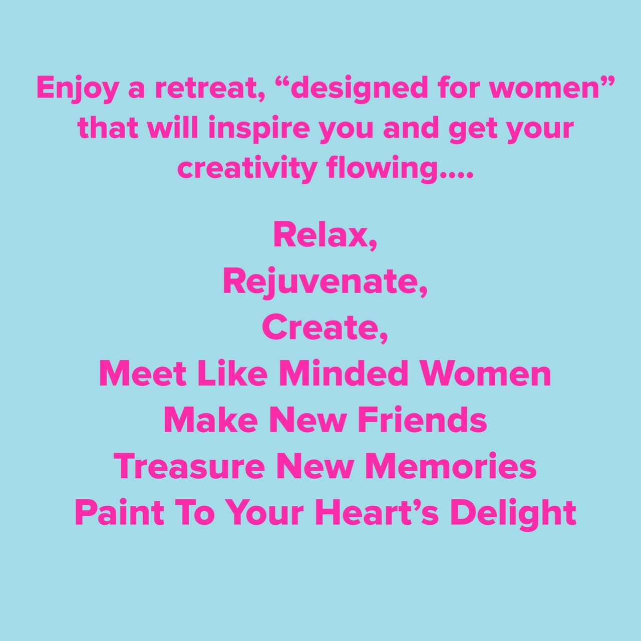 Heart and Soul Womens Art Retreat - Event - Retreat Guru