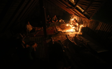 Ayahuasca ceremony in celebration for the summer solstice and Willkakuti (the Aymara New Year )