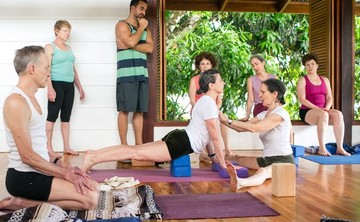 IYENGAR YOGA RETREAT WITH GENNY KAPULER