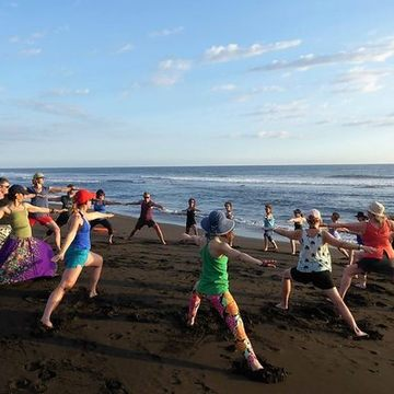 YOGA AND DANCE IN PARADISE WITH JURIAN HUGHES