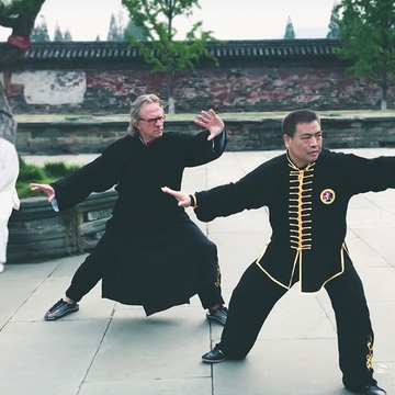 Yang Style Taijiquan Training with Master Fukui Yang and Rick Barrett
