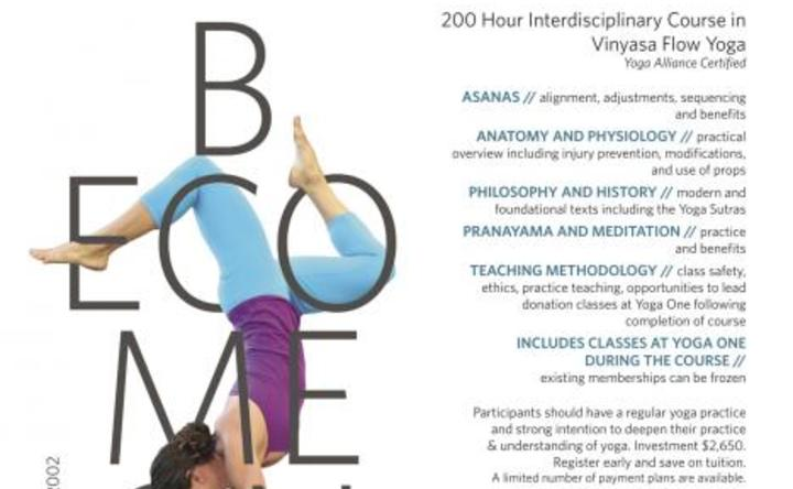 Yoga One Teacher Training Summer Intensive - Event - Retreat Guru
