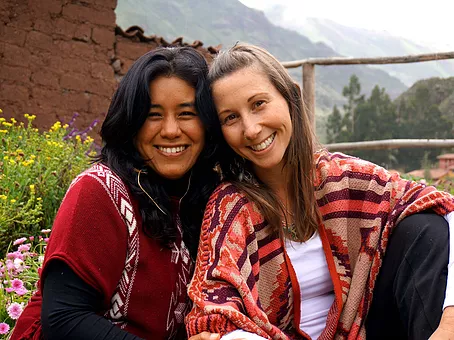 highly trained experienced ayahuasca facilitators in sacred valley, cusco, peru after women's ayahuasca retreat with shipibo grandmother master healers from the amazon jungle.