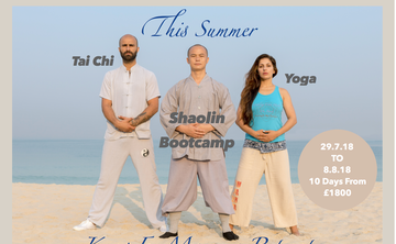 """Train With 32nd Generation Shaolin Monk In """"Kung Fu Retreat Morocco"""" Buddha Package"""
