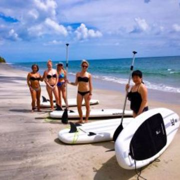 Tropical SUP Adventure and Yoga Retreat