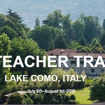 Yoga Teacher Training Lake Como, Italy RYT200