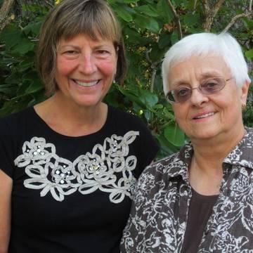Kay Kukowski and Mary Solberg