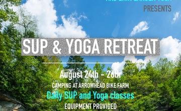 SUP and Yoga Retreat