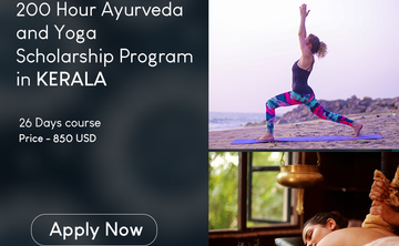 200 Hour Ayurveda and Yoga Scholarship Program in Kerala