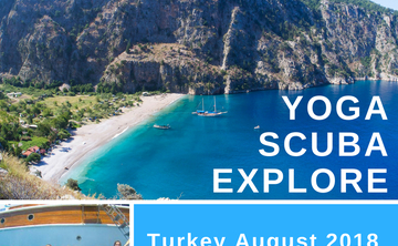 Yoga & Sailing on the Turkish Aegean Coast with Liz Frost