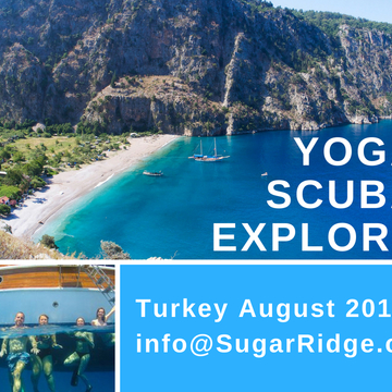 Yoga & Sailing on the Turkish Aegean Coast with Liz Frost