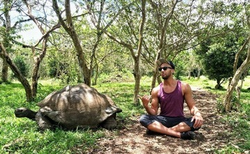 Get Outside Galapagos Yoga Adventure