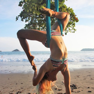 6 Day 40-Hour Aerial Yoga Teacher Training with Lindsay Nova in Arambol, Goa, India