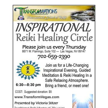 FREE Reiki Spiritual Mastermind Healing Circle, only July 26th 6:30pm-8:30pm
