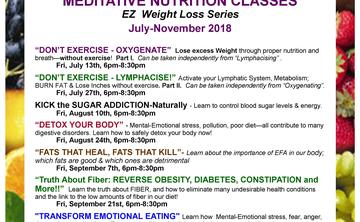Oxygenate for EZ Weight Loss July 13th 6:30pm-8pm