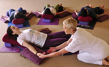 Restorative Yoga Teacher Training – Part 2: Therapeutic Applications