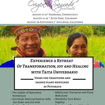Ayahuasca Healing Retreat California