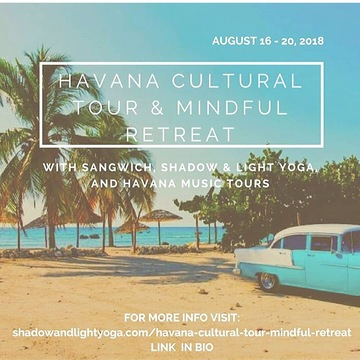 Havana Cultural Tour & Mindful Retreat