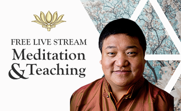 August 4th Free Live Streaming Meditation & Teaching