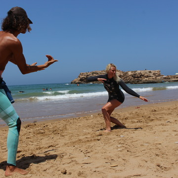 7 day Surf and Yoga retreat next to Morocco's world class waves