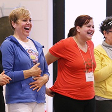 Free All-Day Laughter Yoga Workshop: Live, Laugh, Love!