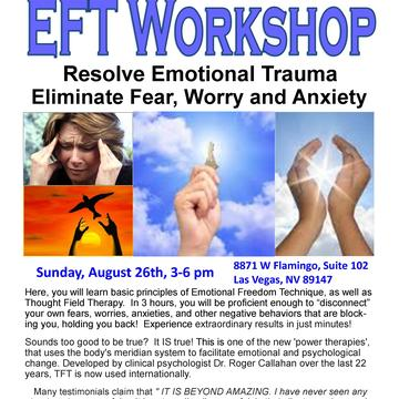 Resolve Emotional Trauma, Eliminate Fear, Worry and Anxiety