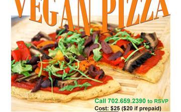 RAW FOOD CLASS - VEGAN PIZZA