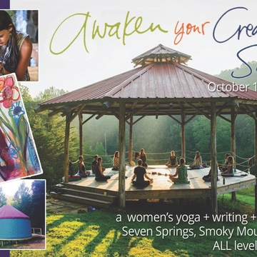 Awaken Your Creative Soul Writing & Art Retreat, Tennessee Smoky Mountains