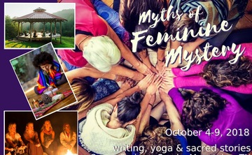 Myths of Feminine Mystery Writing & Yoga Retreat, Tennessee Smoky Mountains