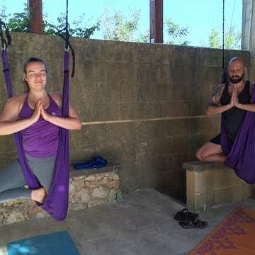 EAT SWIM and FLY: 7 days Uplifting Aerial Yoga and Rejuvenating Detox Retreat in Playa del Carmen, Mexico