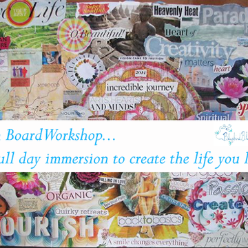 Create Your Dream Life Vision Board Workshop and Embody Abundance Mini Retreat