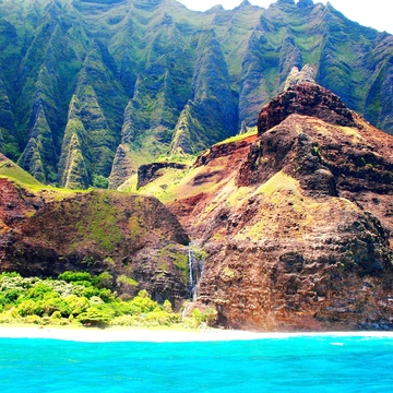7 Day Sacred Mythic Journey Na Pali Coast, Hawai'i
