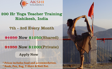 200 Hour Yoga Teacher Training Program in Rishikesh