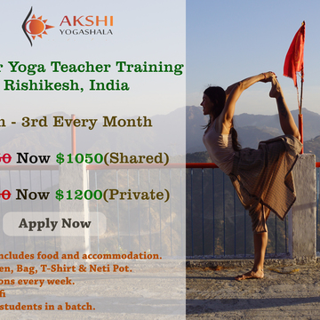 200 Hour Yoga Teacher Training Program in Rishikesh