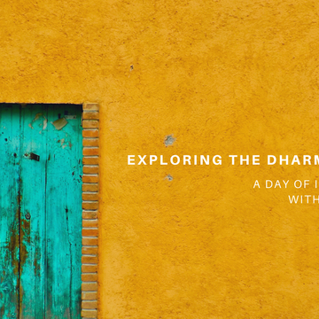 Exploring the Dharma Together: A Day of Insight Dialogue