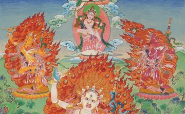 Mandala of the Five Dakinis Retreat   Retraite du Mandala des Cinq Dakinis