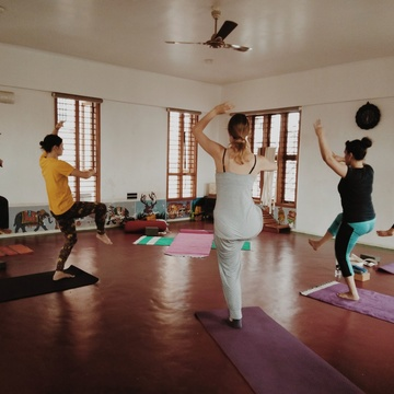 500H Hatha Yoga TTC with Yoga Alliance USA ( veg food & accomodation incluyed)