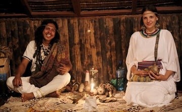 Oruro: Ayahuasca ceremony to close the month of Pachamama