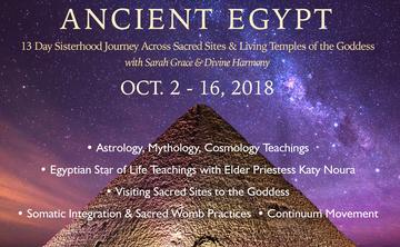 Sacred Sisterhood Pilgrimage through Ancient Egypt